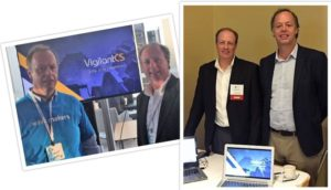VigilantCS Leadership Team participating in two major industry fintech events.